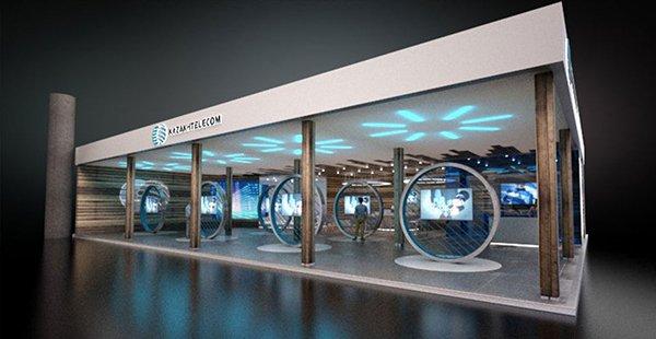 Kazakhtelecom – Design and Concept Rendering for Freeman