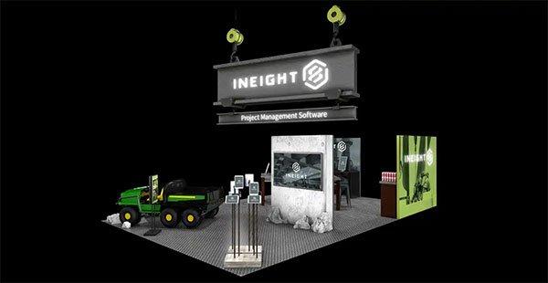 INEIGHT Exhibits – Environmental Design/Concept Rendering For Jack Morton Worldwide