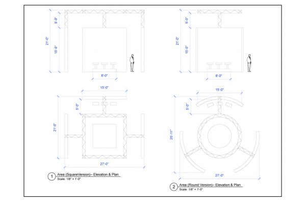 SPACE LAYOUT AND DRAWING FOR MARK SOLAN DESIGN