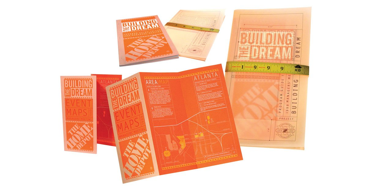 Print Collateral and Page Layouts