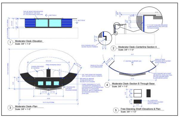 DRAWINGS FOR EDDIE KNASIAK DESIGN