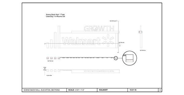 Walmart Supplier Growth Forum – Drawings for Eddie Knasiak Design