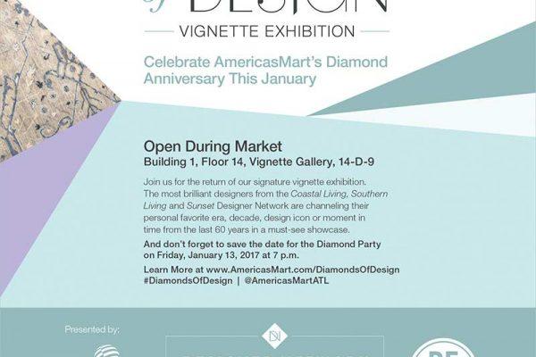 Diamonds of Design - Graphic Design for AmericasMart Atlanta