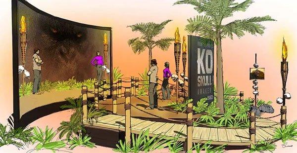 Kong Ar Experience – Creative Direction/Environmental Design/Concept Rendering For Pen & Public