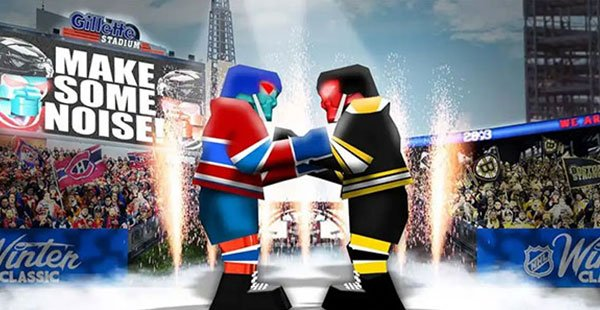 NHL Winter Classic – Concept Rendering For Five Currents