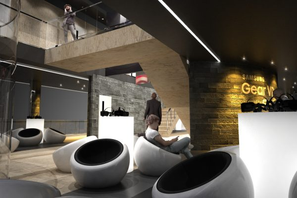 Oculus – Design and Concept Rendering for Envy Create