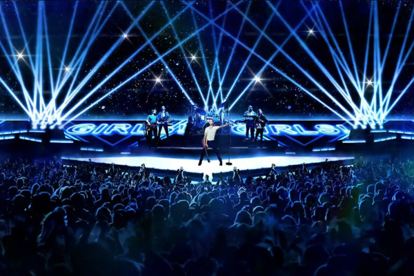 SUPERBOWL HALFTIME SHOW - CONCEPT DEVELOPMENT AND RENDERING FOR TRIBE INC.