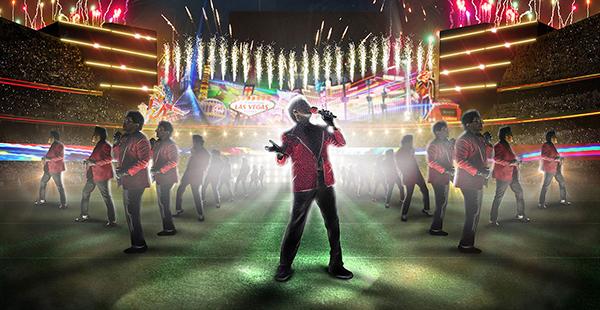 Superbowl Halftime Show – Concept Rendering For Tribe Inc.